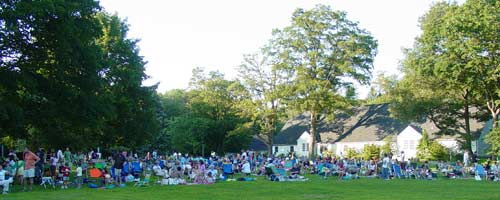Crowds at Concert on the Green